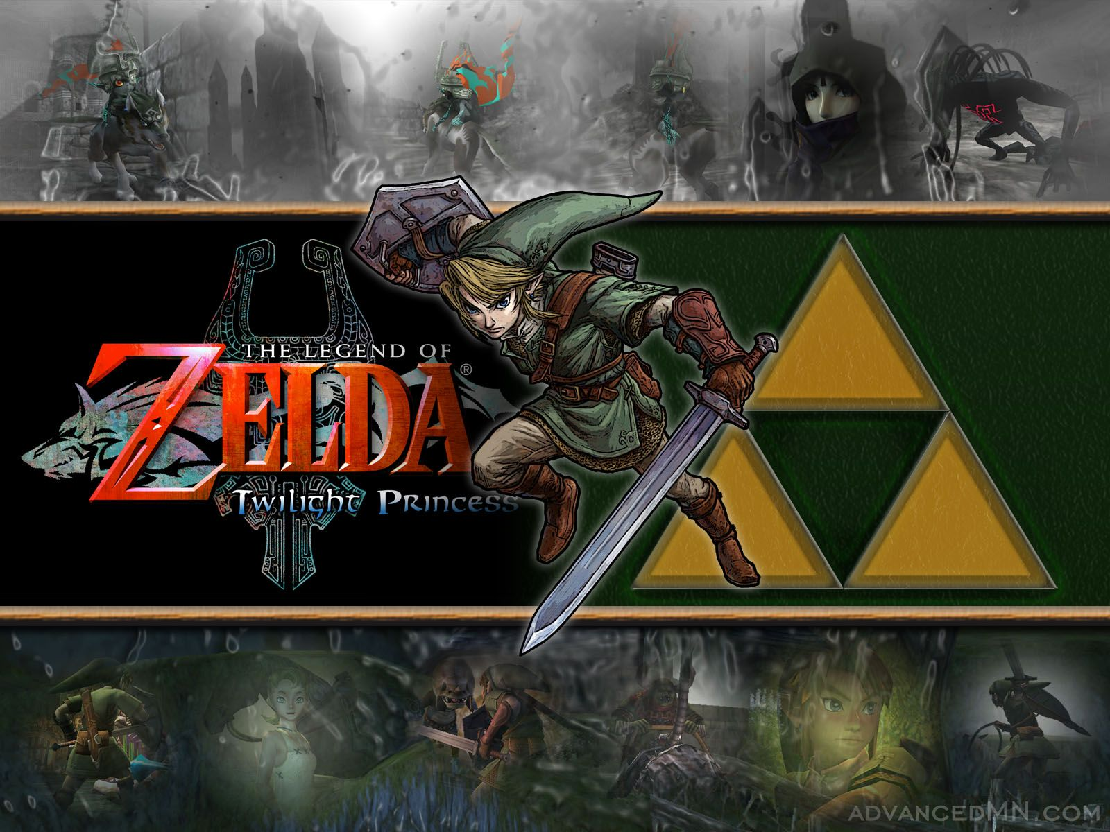 Pix For Link And Zelda Twilight Princess Wallpaper 1600x1200