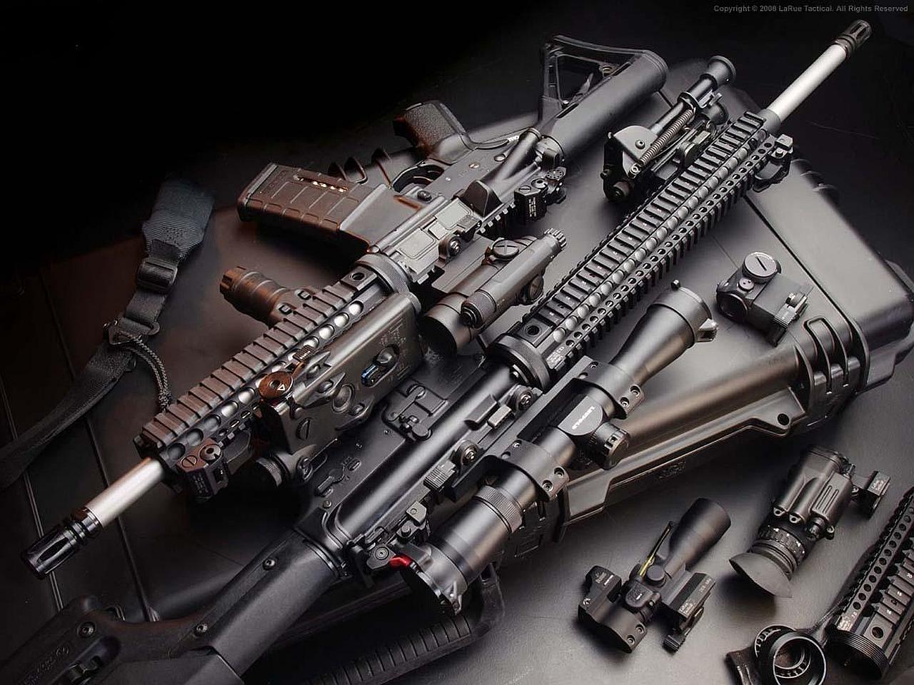 Assault Rifle Computer Wallpapers Desktop Backgrounds 1280x960 ID 1280x960