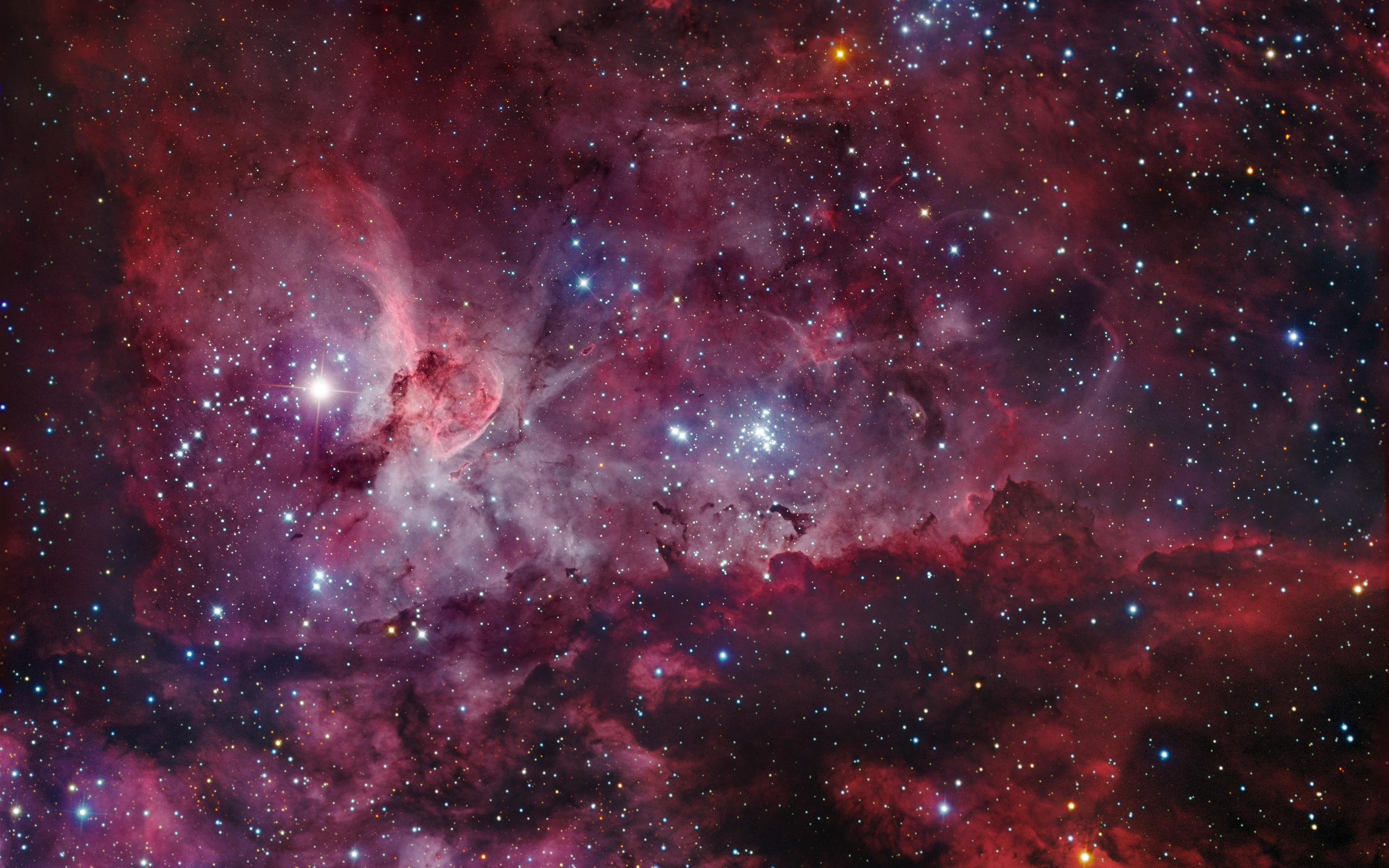 Nebula Wallpaper carina ngc 3372 stars universe 2560x1600