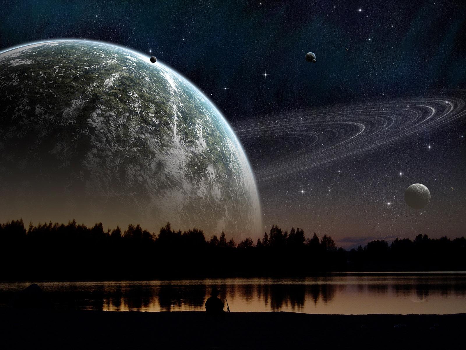 Digital Universe Night HD WallpaperWelcome To StarChop 1600x1200