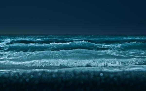nightbeach beach night waves shore 1920x1200 wallpaper Beaches 600x375