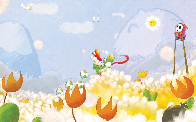 Baby Mario Wallpapers Baby Mario Myspace Backgrounds Baby Mario 1440x900
