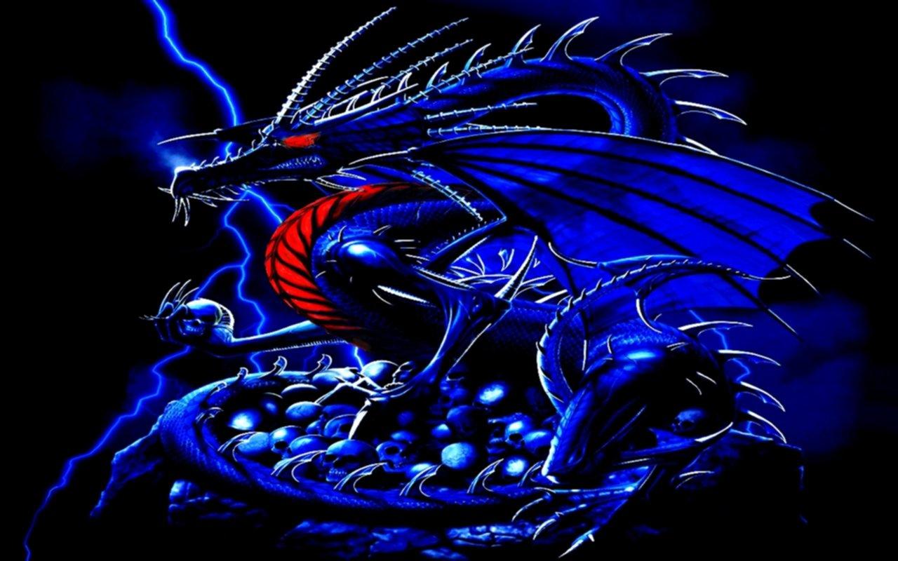 Description Blue Dragon Wallpaper is a hi res Wallpaper for pc 1280x800