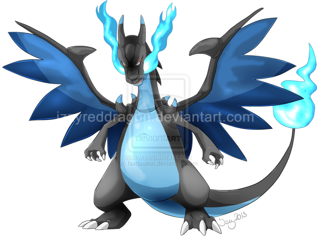 Mega Charizard X by Natsuakai 1024x763