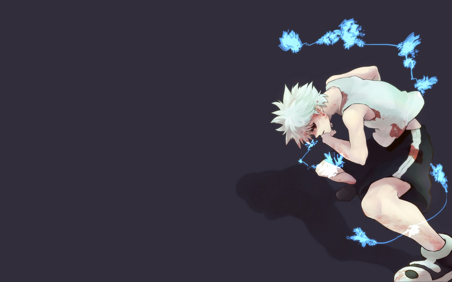 killua lightning hunter x hunter 2011 anime hd wallpaper 1920x1200 14 1920x1200