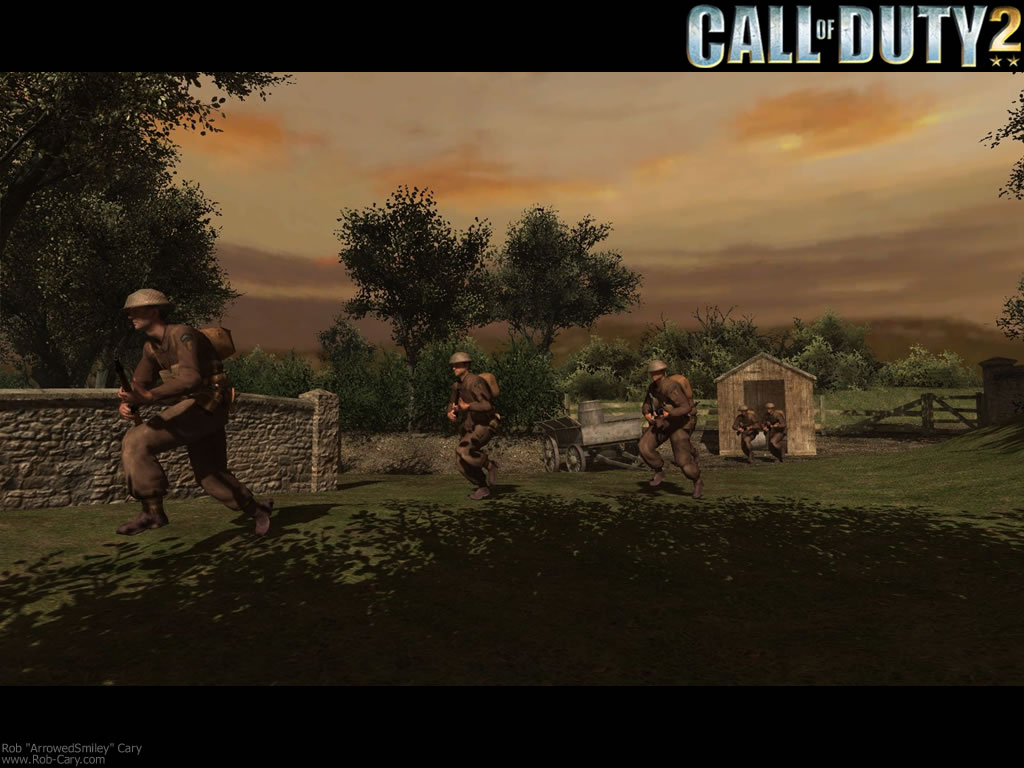 Band of Brothers- Free Call of Duty 2 Wallpaper Gallery - Best Game ...