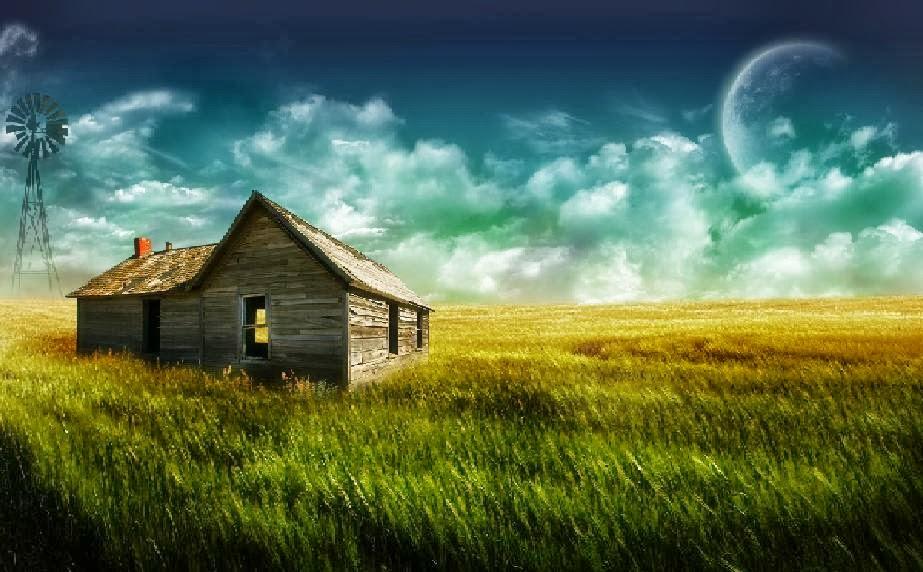 Old Farm Wallpaper 923x572