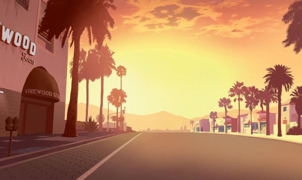Vinewood Streets Background 960x573