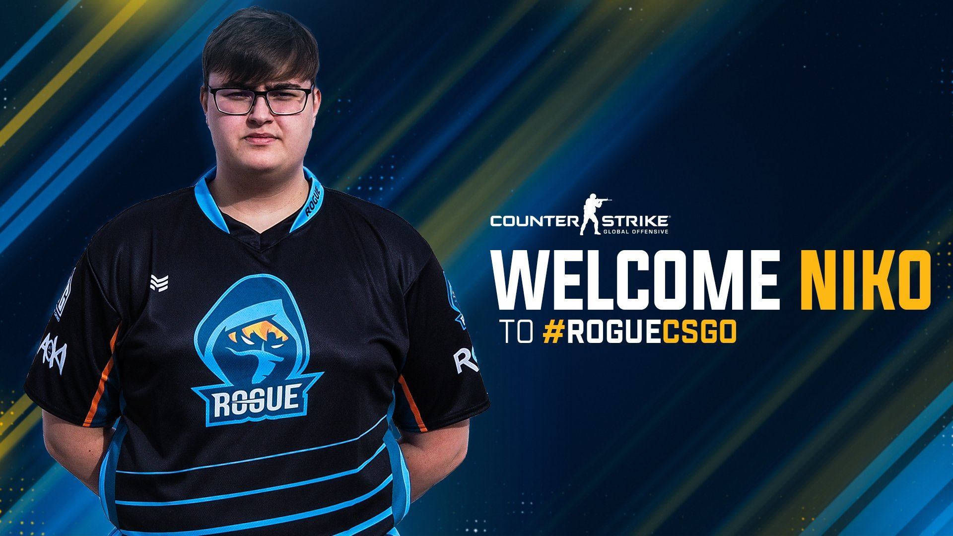 Rogue signs Danish player Niko to their CSGO team   Counter 1920x1080
