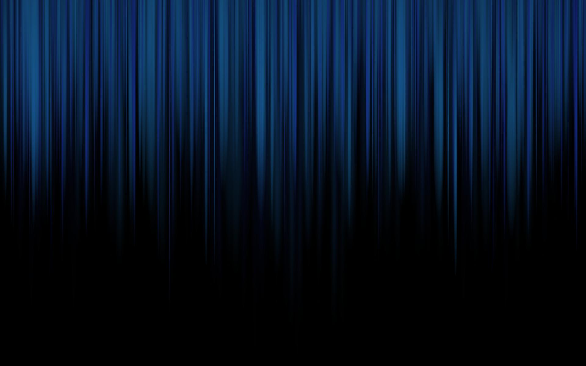 Blue Striped Wallpaper: Black And Blue Desktop Wallpaper