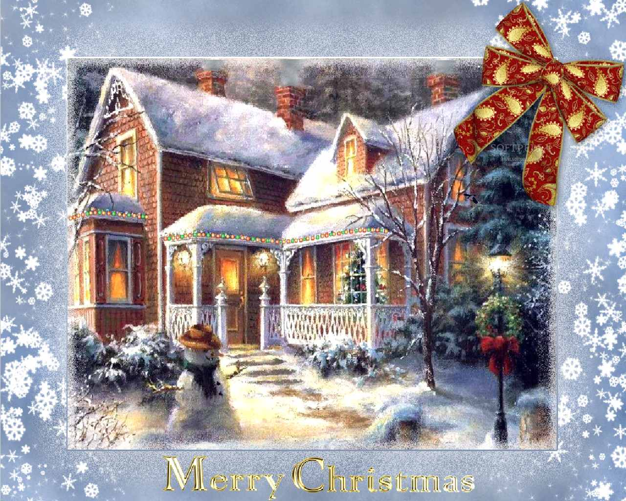 Games Wallpapers 3D Christmas Wallpapers   Download Online 1280x1024