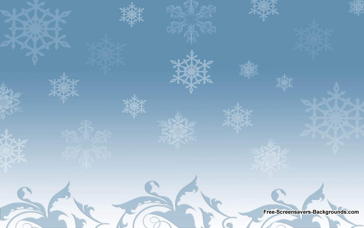 Winter Snow   Screensavers and Backgrounds 1440x900