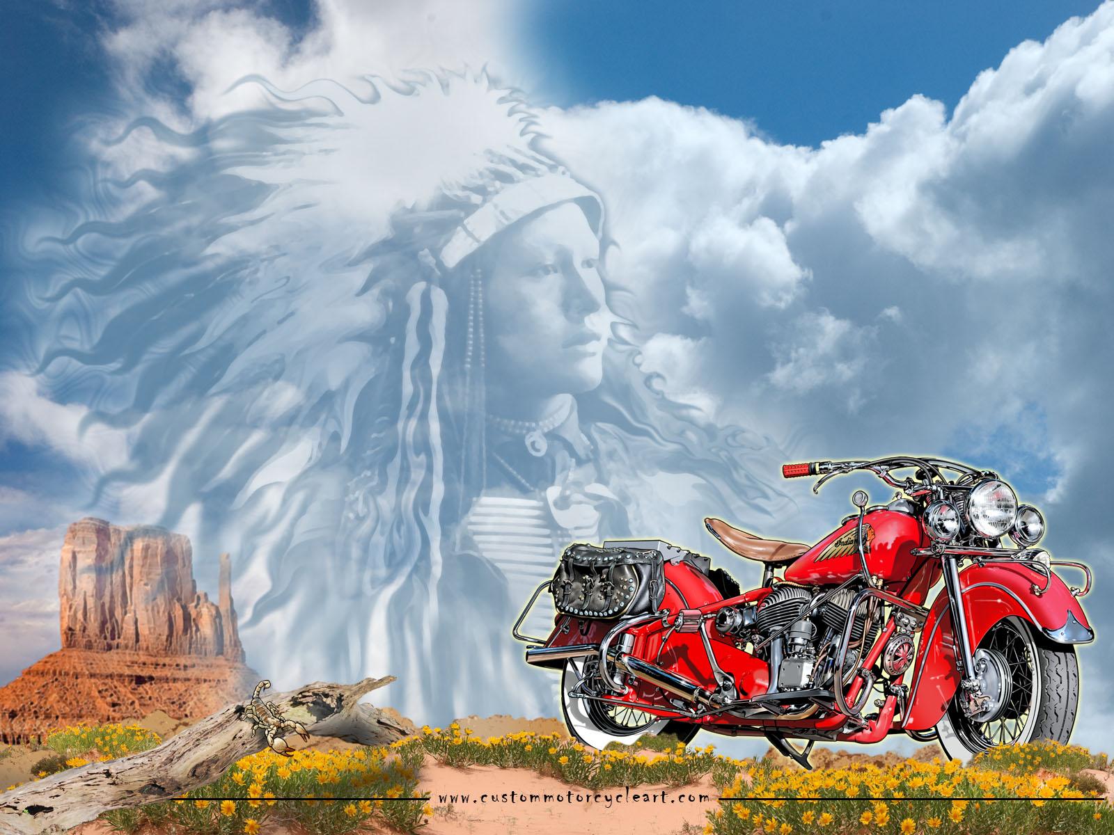 Motorcycle Art Wallpaper Wallpapersafari