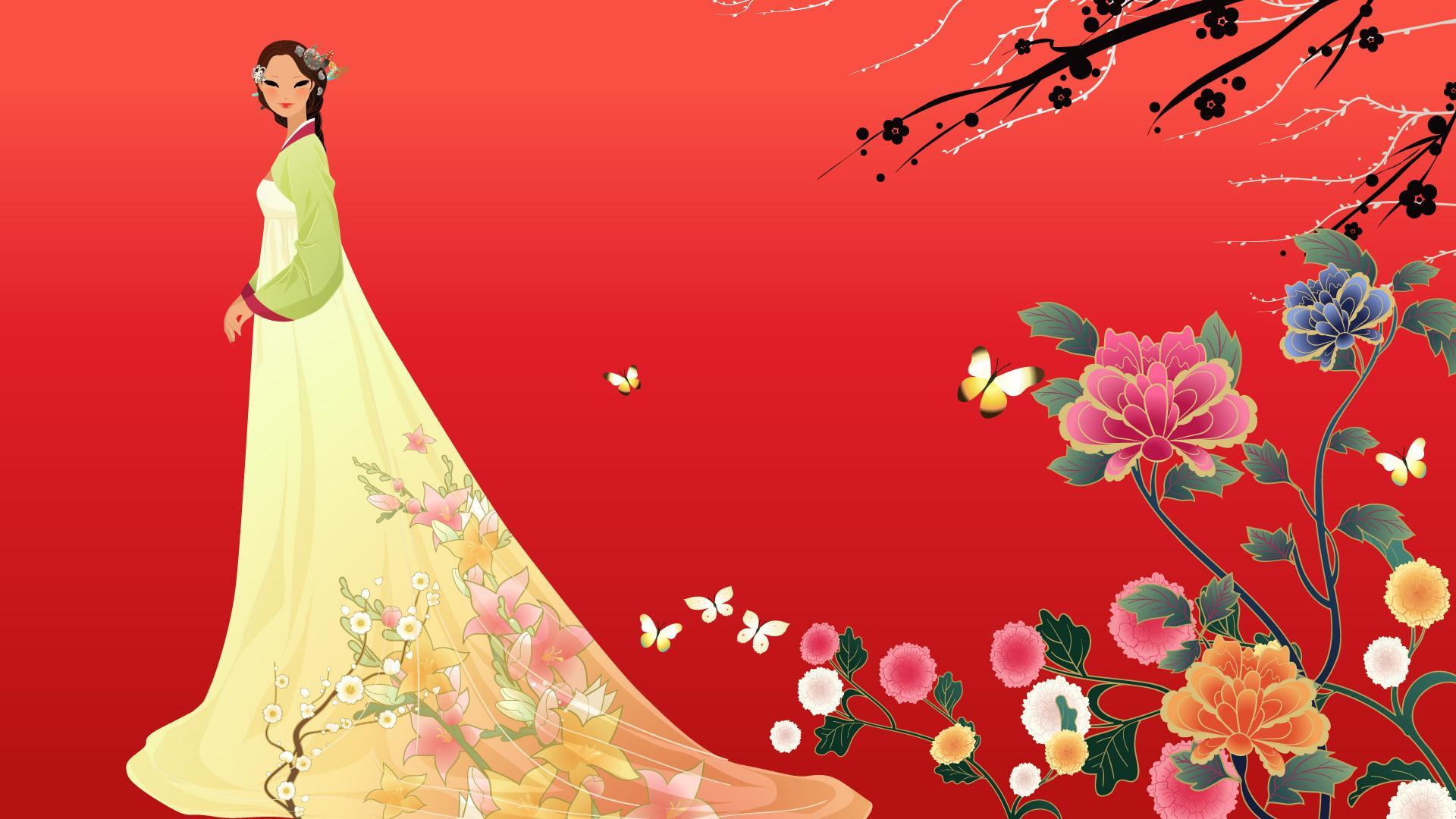 Geisha HD 1920x1080 1920x1080