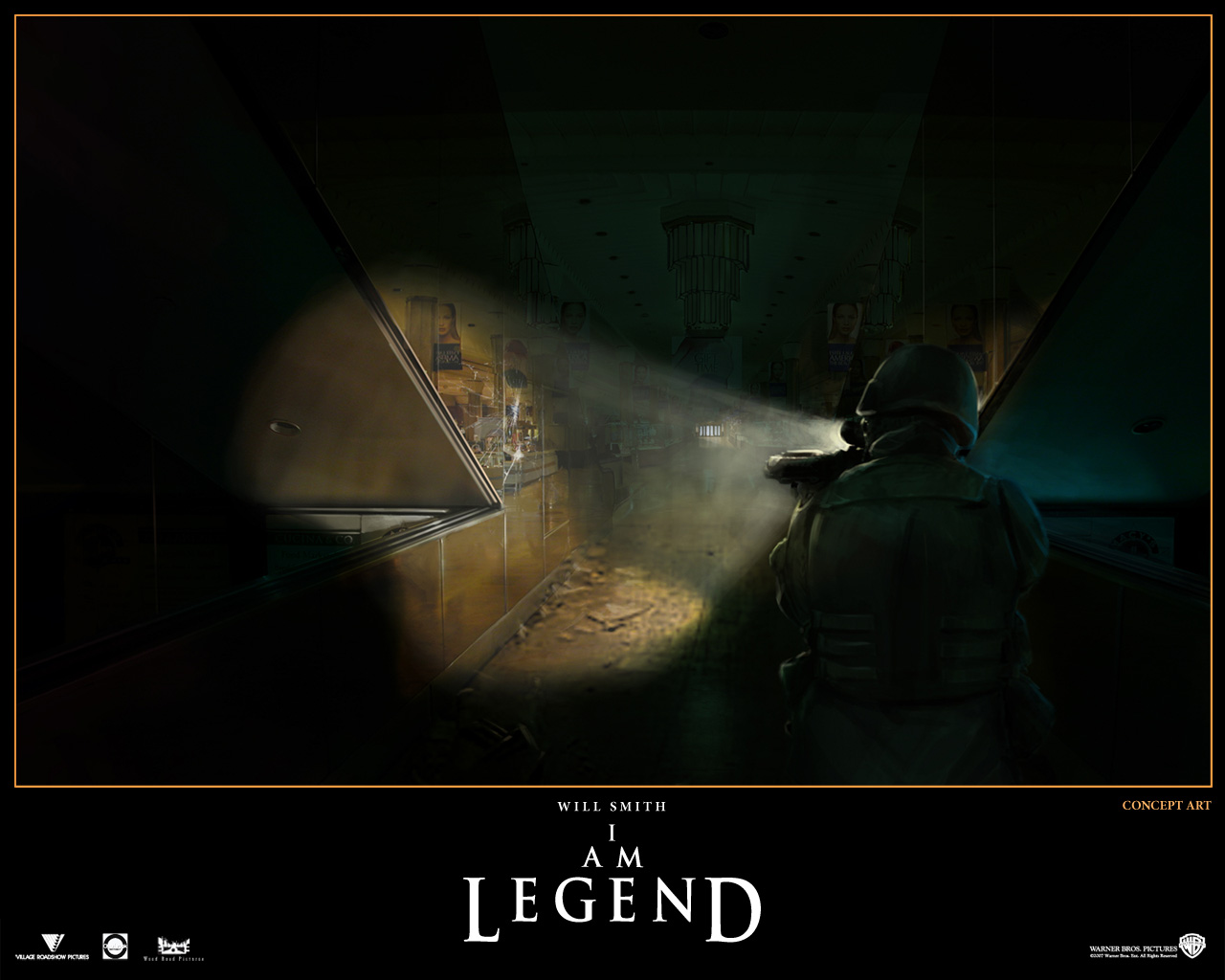 Movies I Am Legend 1280x1024
