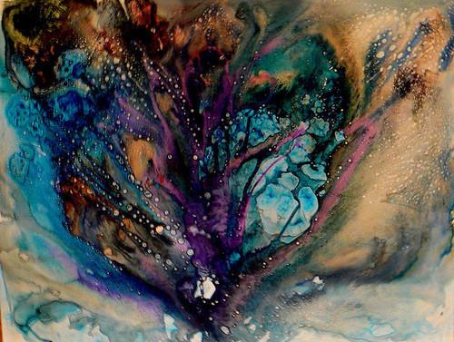 design boho indie colour ink pattern paint artsy acid sunshine 500x377