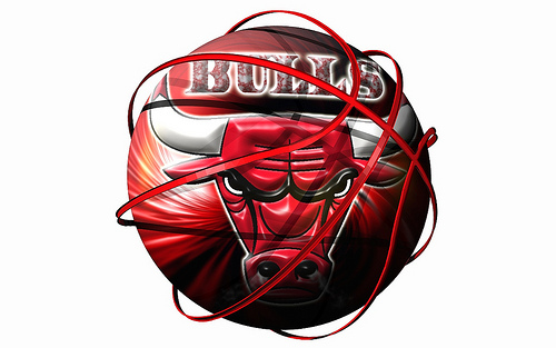 Chicago Bulls NBA logo wallpaper Flickr   Photo Sharing 500x313