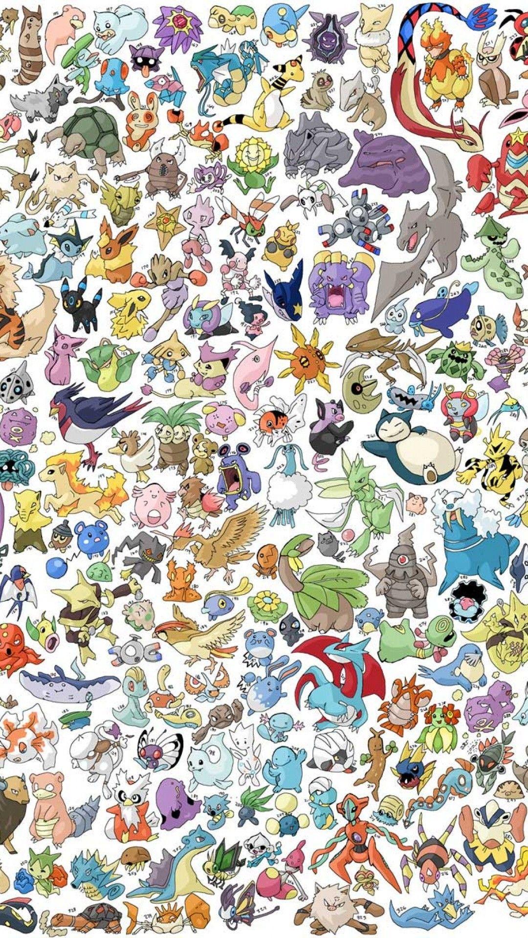 Pokemon iPhone Wallpapers   Top Pokemon iPhone Backgrounds 1080x1920