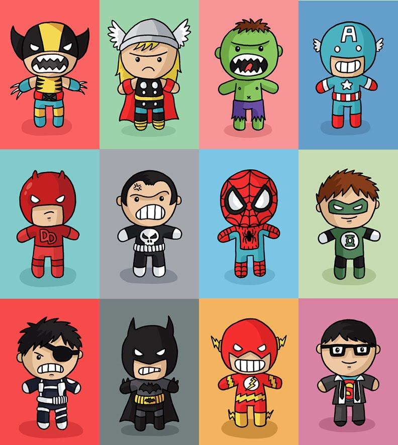 Cute Superheroes Wallpaper Images Pictures   Becuo 792x886