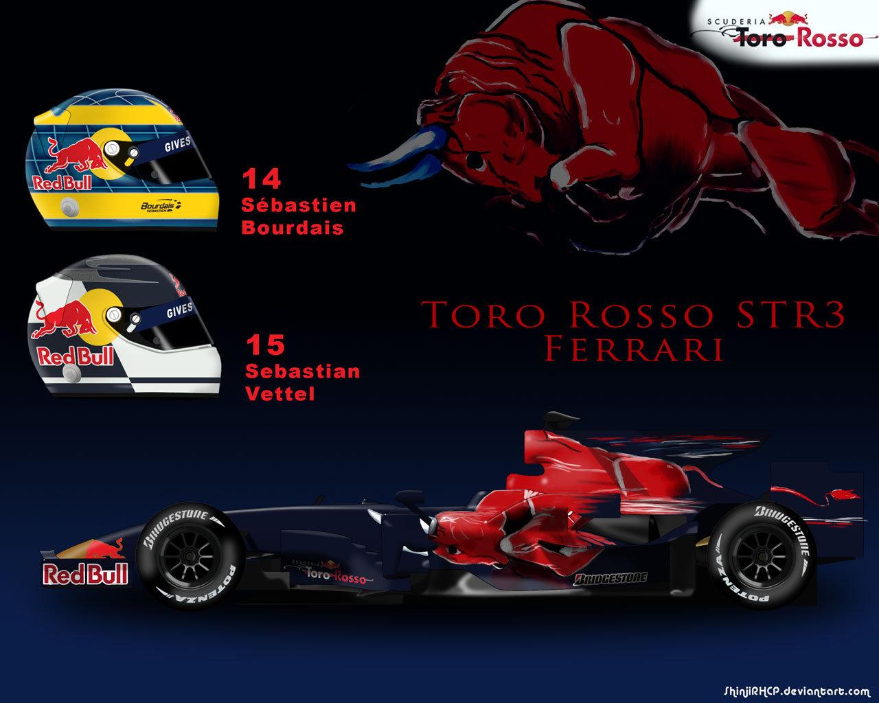 Toro Rosso Str13 Wallpapers Wallpapersafari