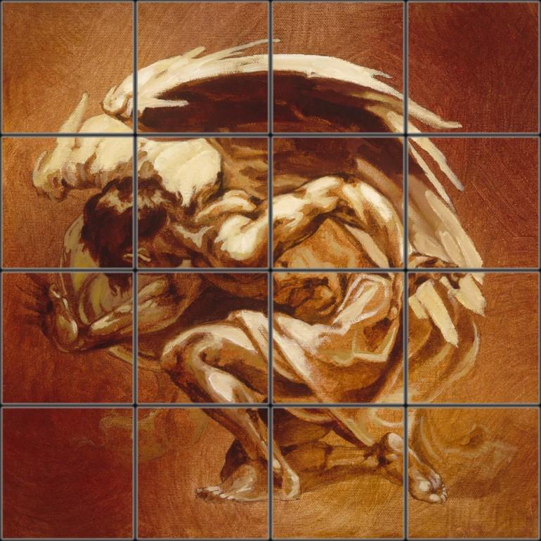 Tile Mural 20 16x16 Reptile 770x770