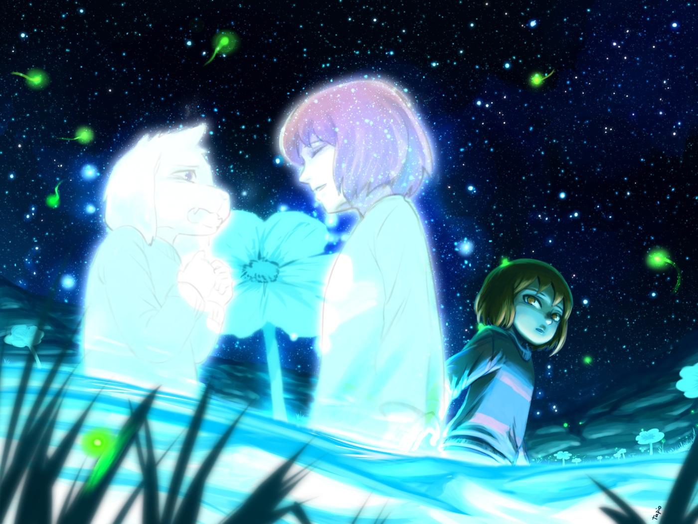 frisk undertale undertale konachancom   Konachancom Anime 1400x1050