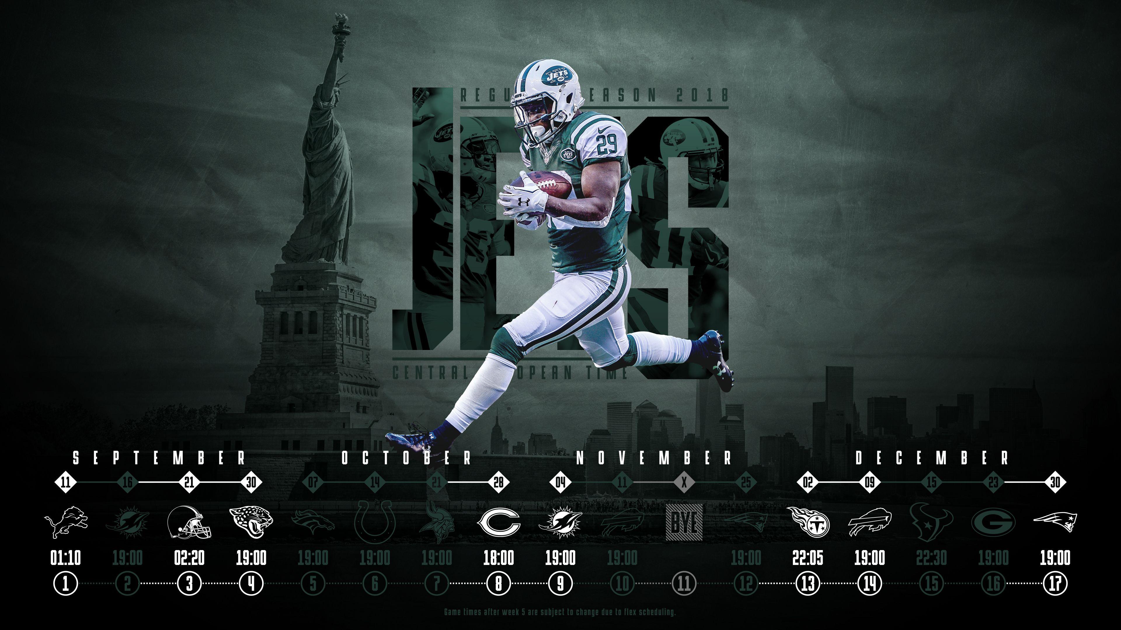 19 New York Jets 2018 Wallpapers On Wallpapersafari