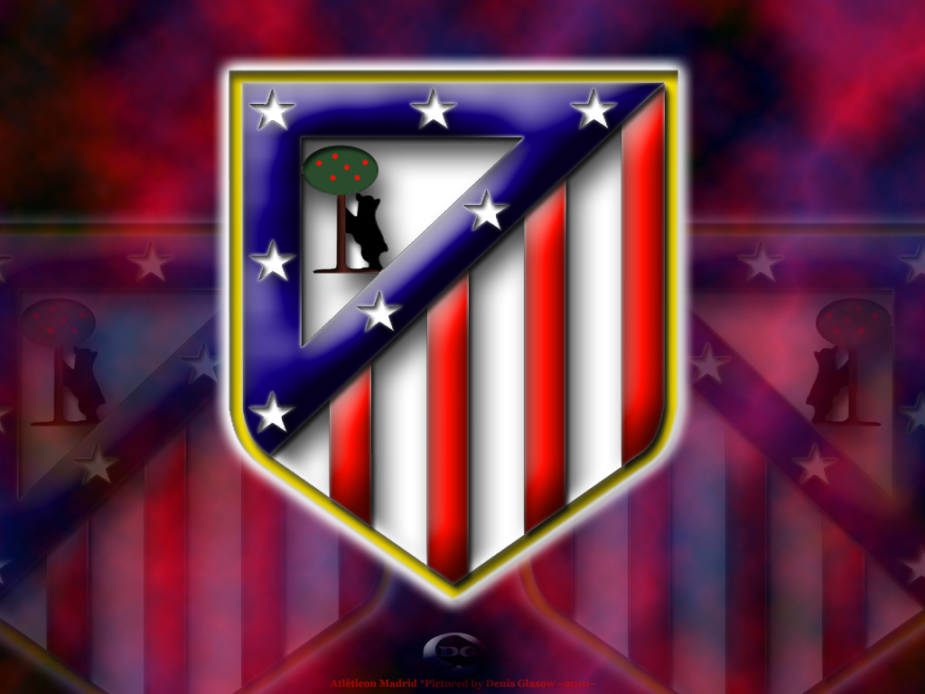 Atltico Madrid Logo Top Wallpaper   Football HD Wallpapers 1024x768