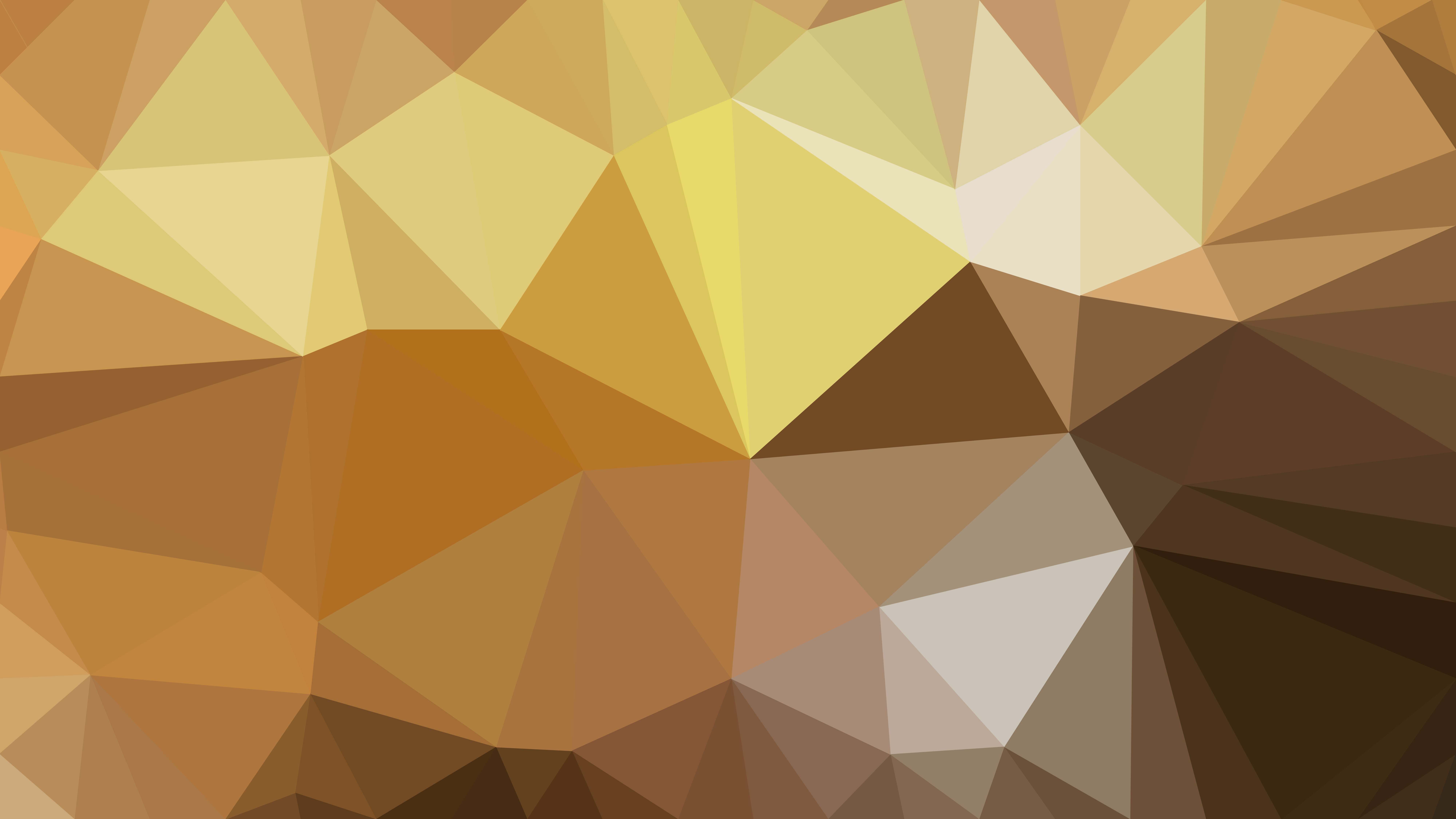 Brown Triangle Geometric Background Vector 8000x4500