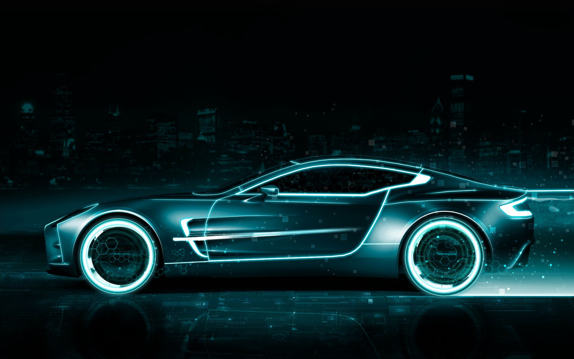 Animated Car Wallpaper 1920x1200