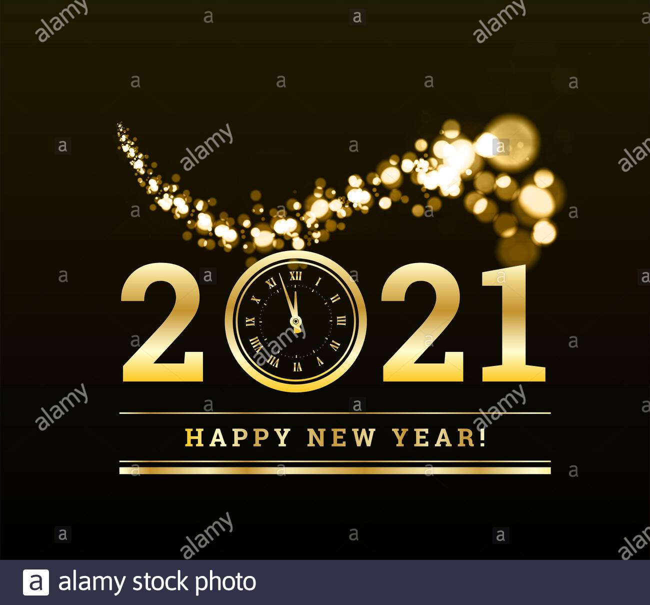 Happy New Year 2021 High Resolution Stock Photography and Images 1300x1210