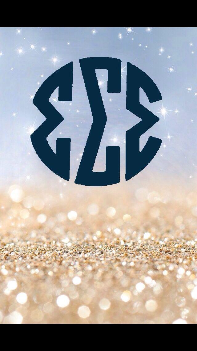 Glitter tri sigma iPhone wallpaper Tech Candy Sorority 640x1136