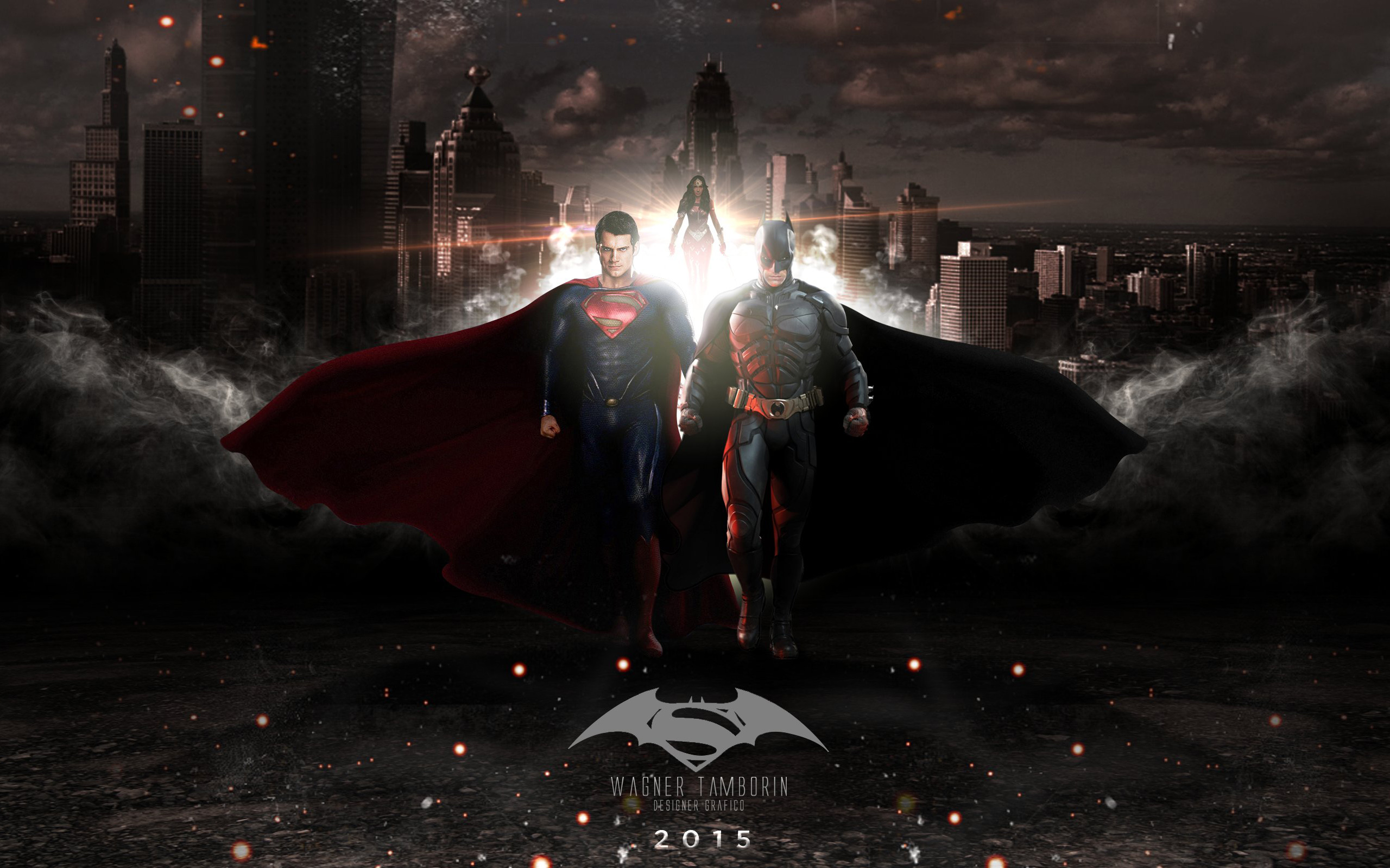 Batman v Superman Dawn of Justice 2016 by hdwallpapersin 2560x1600