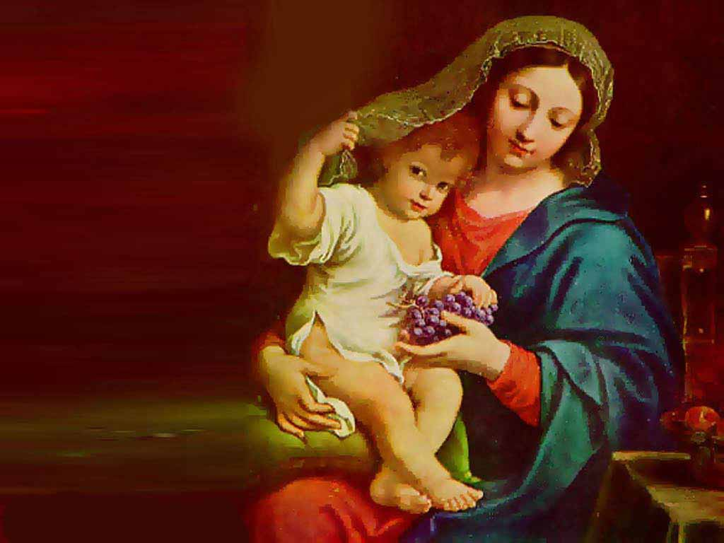 Wallpapers Of Virgin Mary 1024x768
