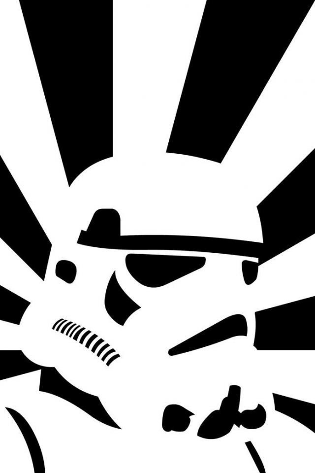 Stormtrooper Star Wars Drawing Wallpaper   iPhone Wallpapers 640x960