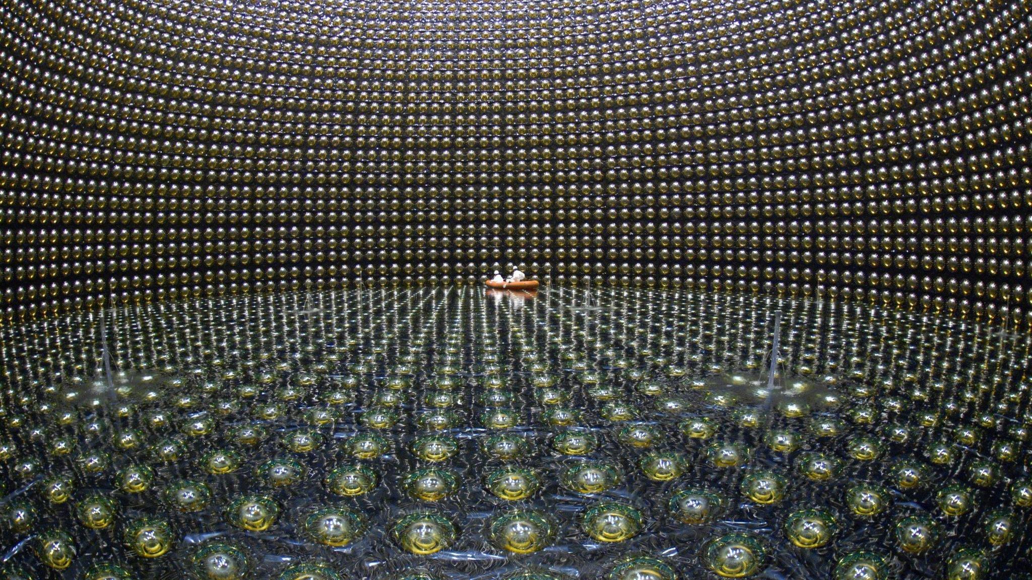 Tuning the neutrino detector wallpapers 2048x1152