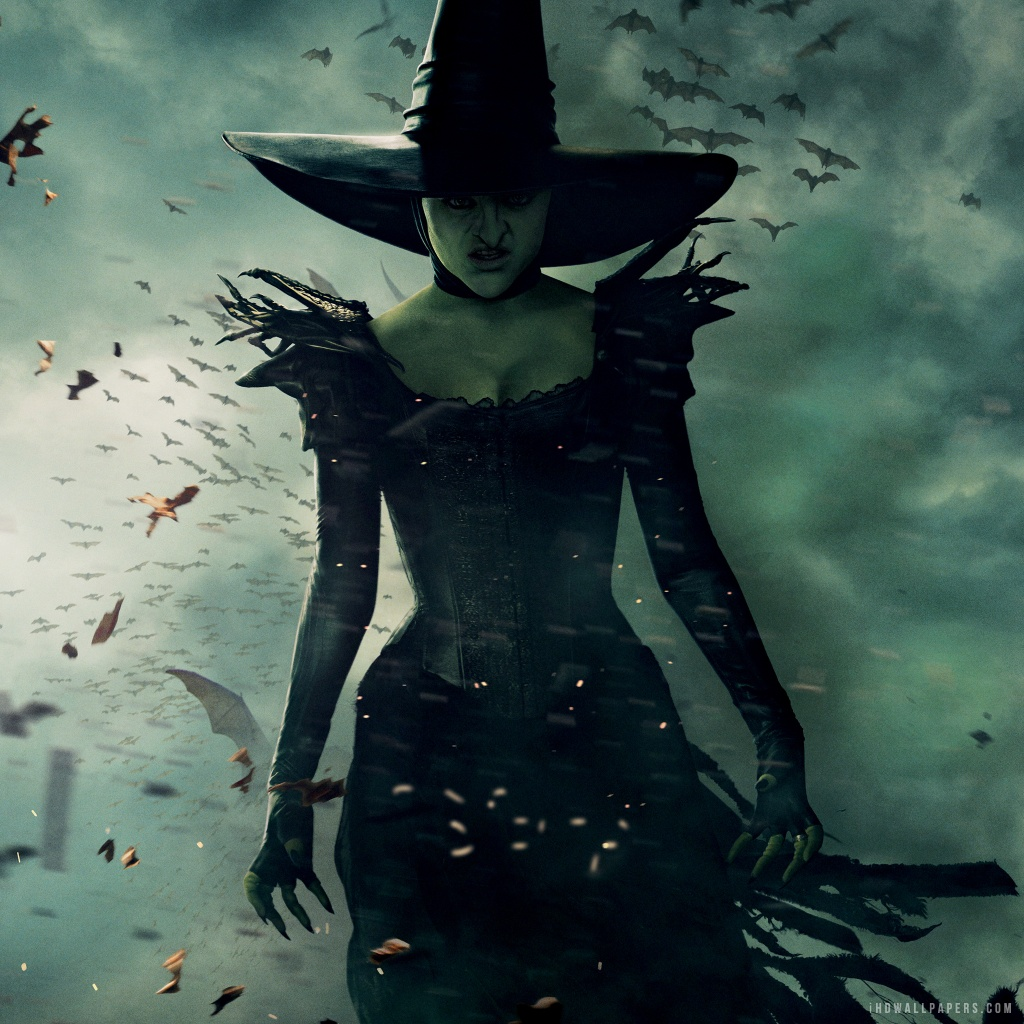 Wicked Witch Wallpaper 1024x1024