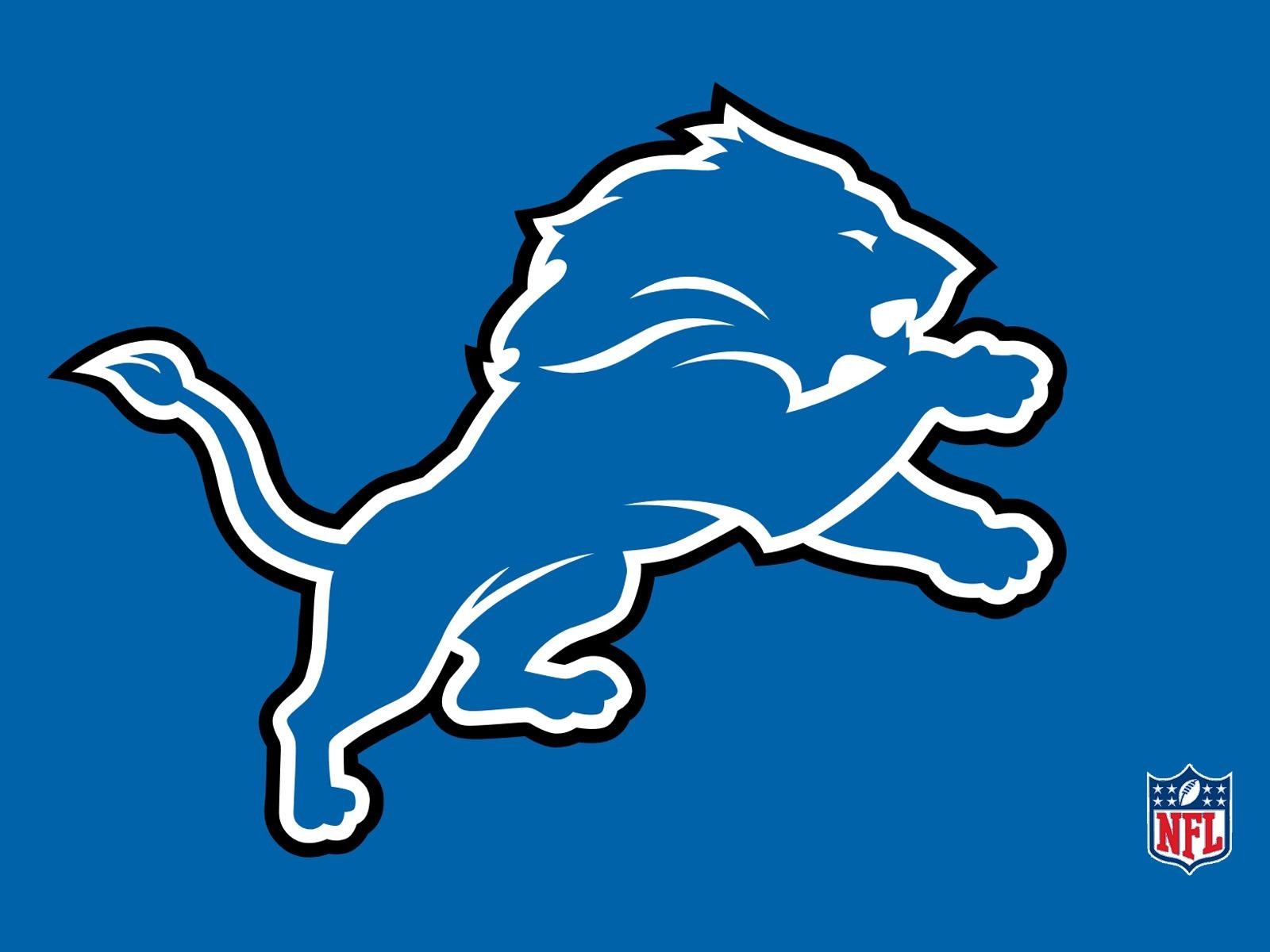 Detroit Lions Logo Wallpaper Desktop 1600x1200