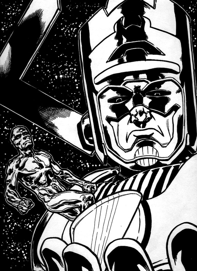 The Herald of Galactus by epic364 on deviantART 762x1049