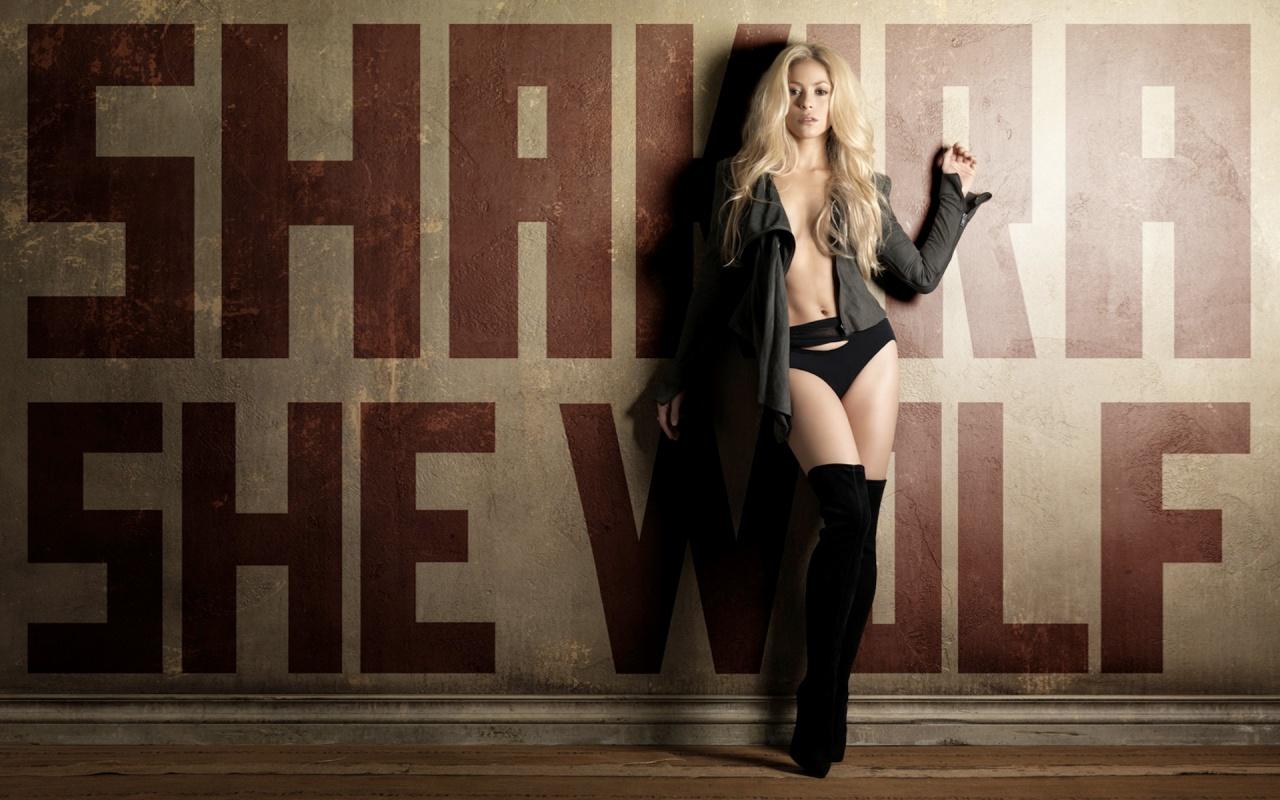 HD Wallpapers Mania Shakira She Wolf Wallpaper 1280x800