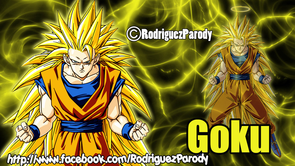 Dragon ball Z Wallpaper Goku Ssj3 by RodriguezParody 1024x576