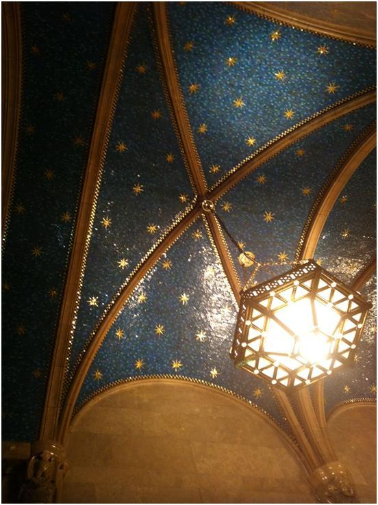 Constellation Wallpaper Ralph Lauren Constellation ceilings 552x738