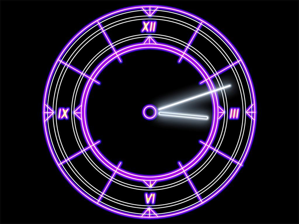 Free download clock free download blue wheel desktop clock 100.
