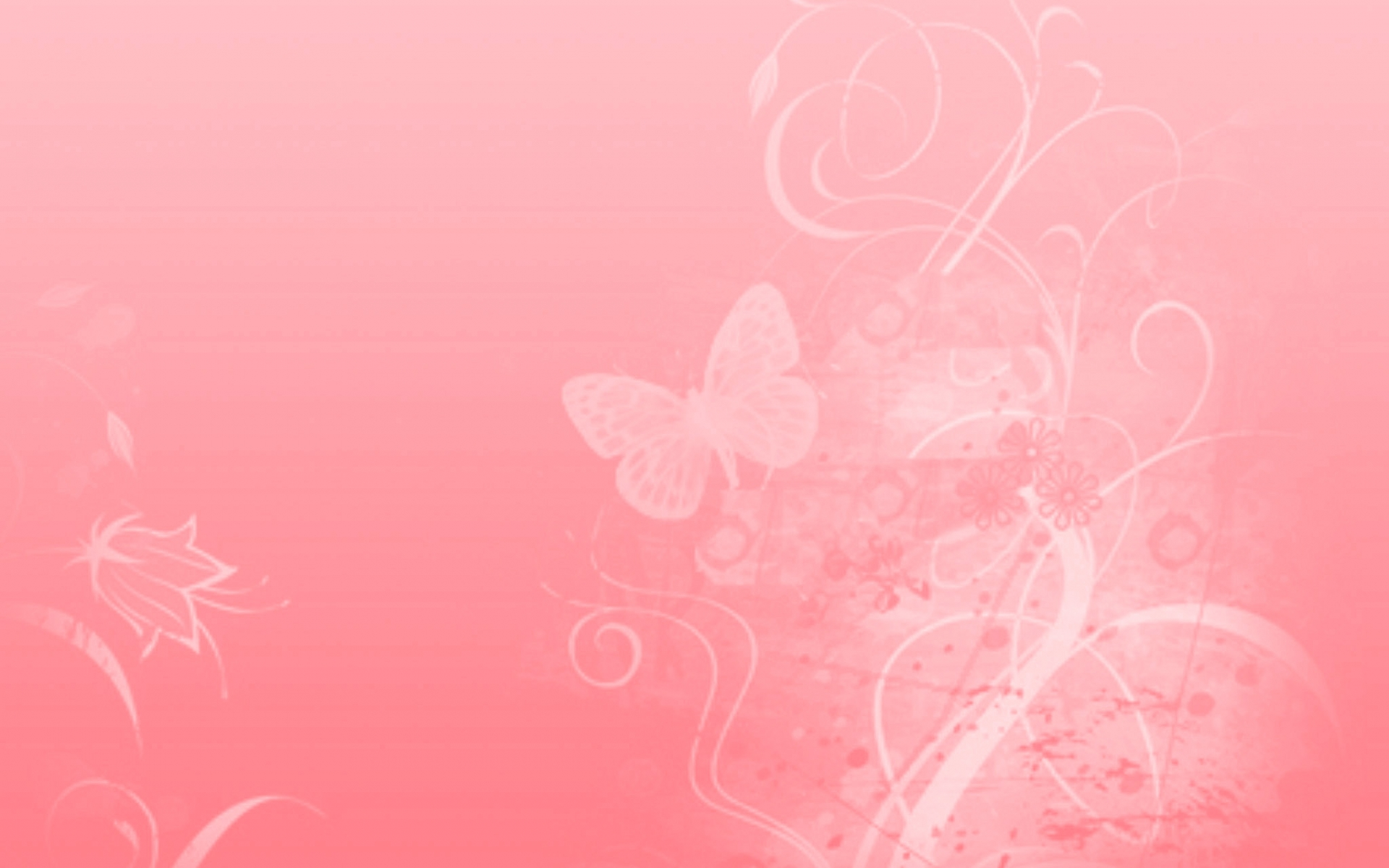 Free Download Pink Floral Background Wallpaper 1920x1200 For