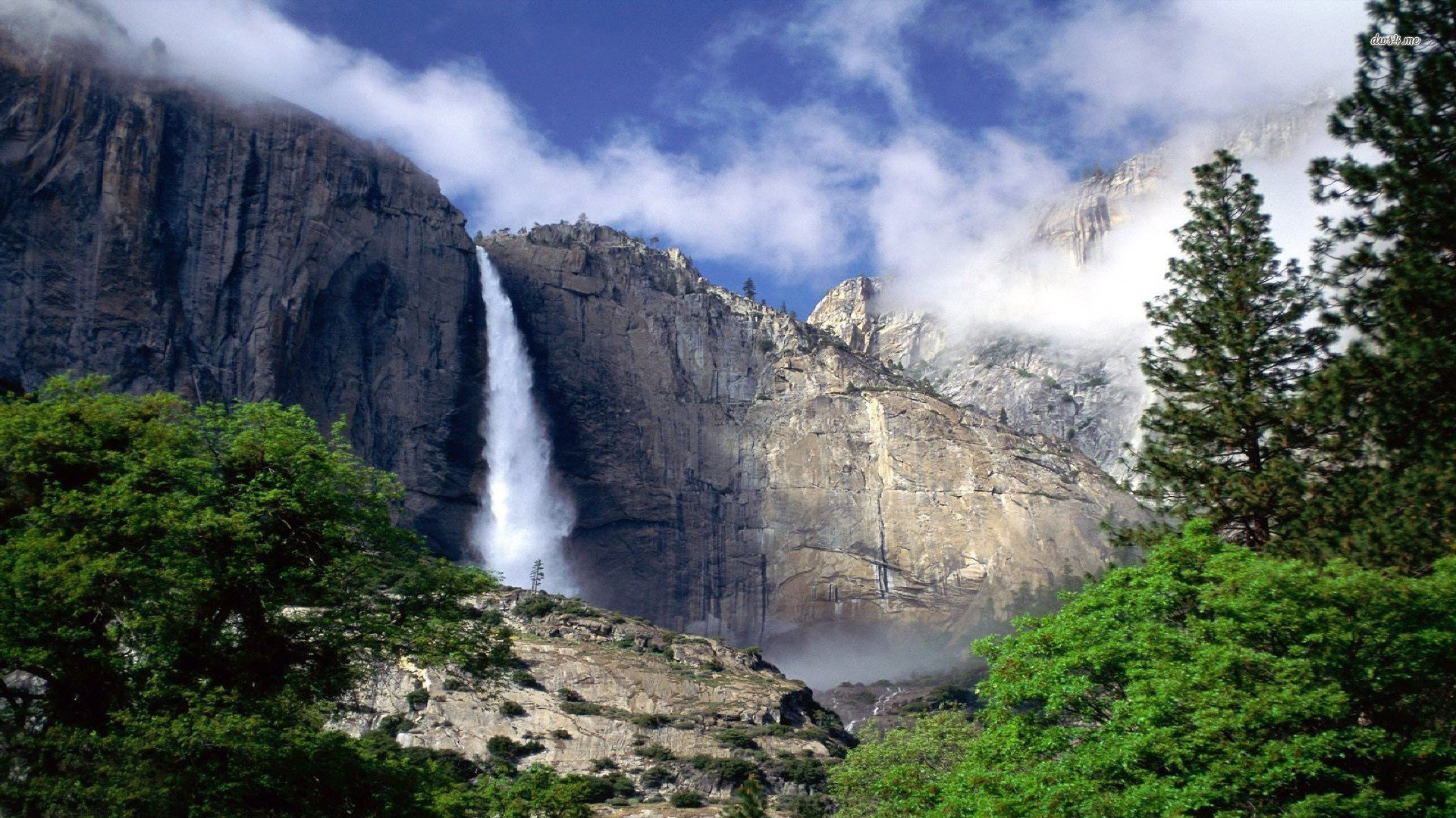 Yosemite Falls HD Wallpapers 1920x1080