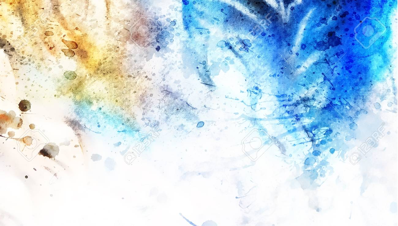 Abstract Color Artistic Backgrounds With Spots Stock Photo 1300x739