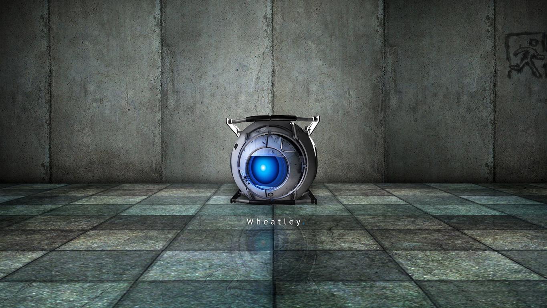 Portal 2 wallpaper 11042 1365x768