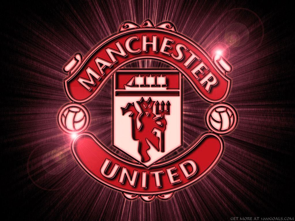 manchester united red devil wallpaper ac milan mu fish cartoon logo 1024x768