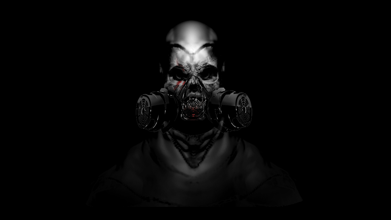 Free Download Cool Skull With Gas Mask Wallpapers Cool Skull