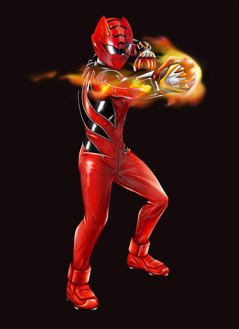 Free Download Power Rangers Jungle Fury Red Ranger By Dxpro